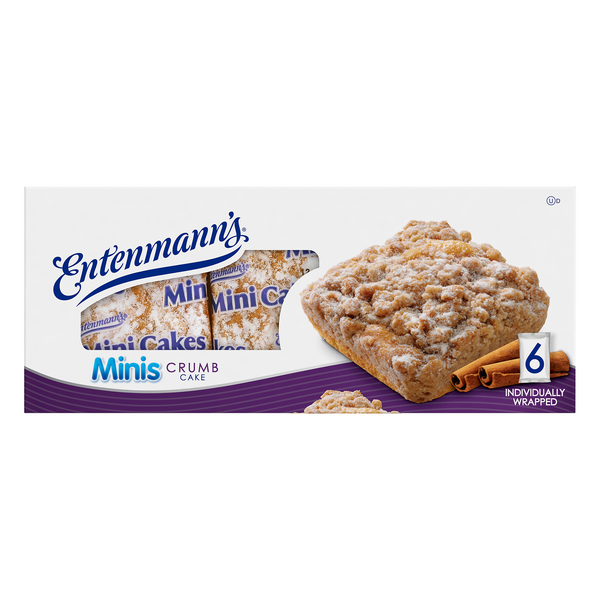 Entenmann's Mini Crumb Cakes - 6 ct
