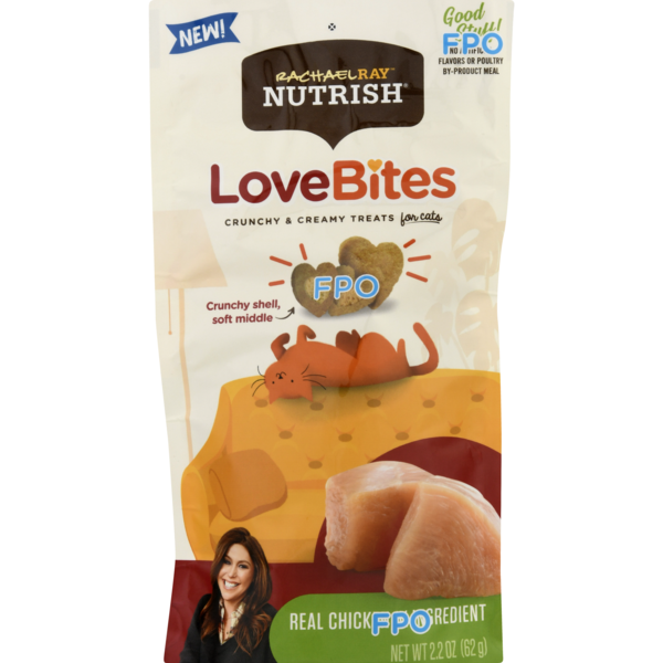 Rachael Ray Nutrish Love Bites Cat Treats Real Chicken