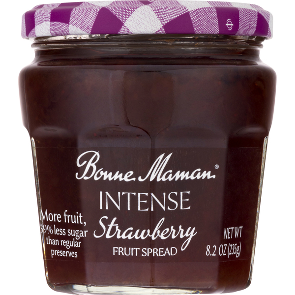 Bonne Maman Fruit Spread Intense Strawberry