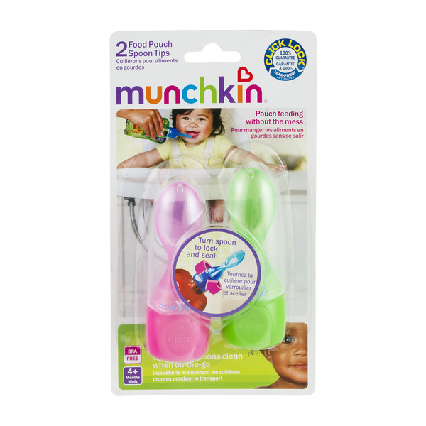 Munchkin Food Pouch Spoon Tips