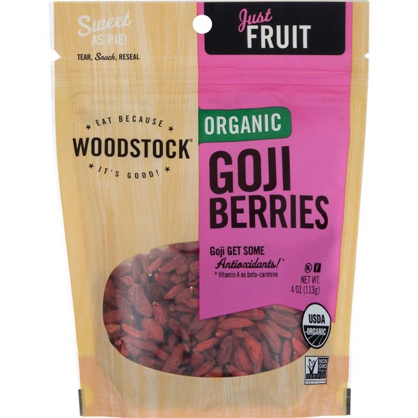 Woodstock Just Fruit Goji Berries Organic