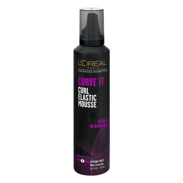 L'Oreal Advanced Hairstyle Curve It Curl Elastic Mousse