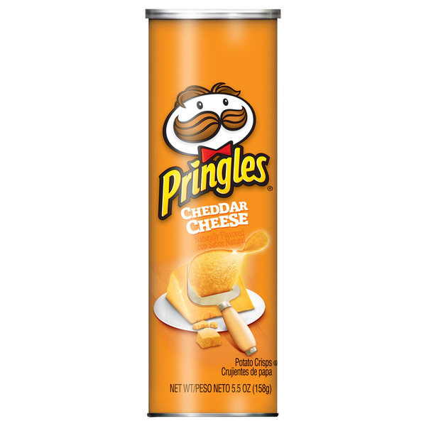 Pringles Potato Crisps Cheddar Cheese
