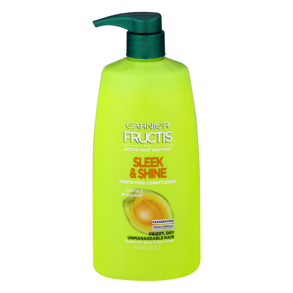 Garnier Fructis Sleek & Shine Fortifying Conditioner for Frizzy Dry Hair