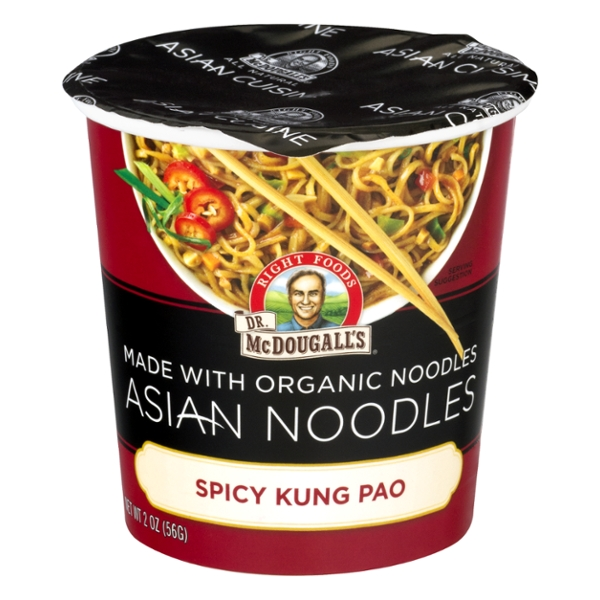 Dr. McDougall's Asian Noodles Spicy Kung Pao Organic