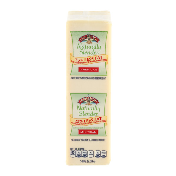 Land O Lakes Deli American Cheese Naturally Slender White (Regular Sliced)