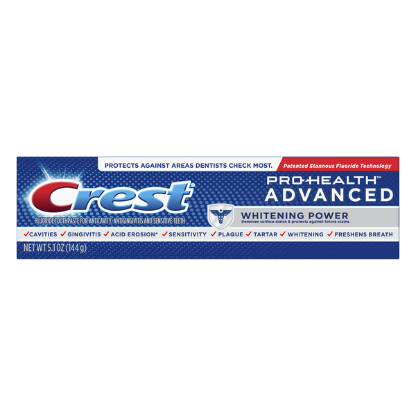 Crest Pro-Health Advanced Toothpaste Whitening Power