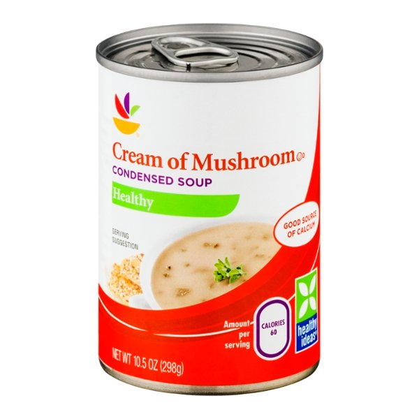 Giant Healthy Cream of Mushroom Condensed Soup