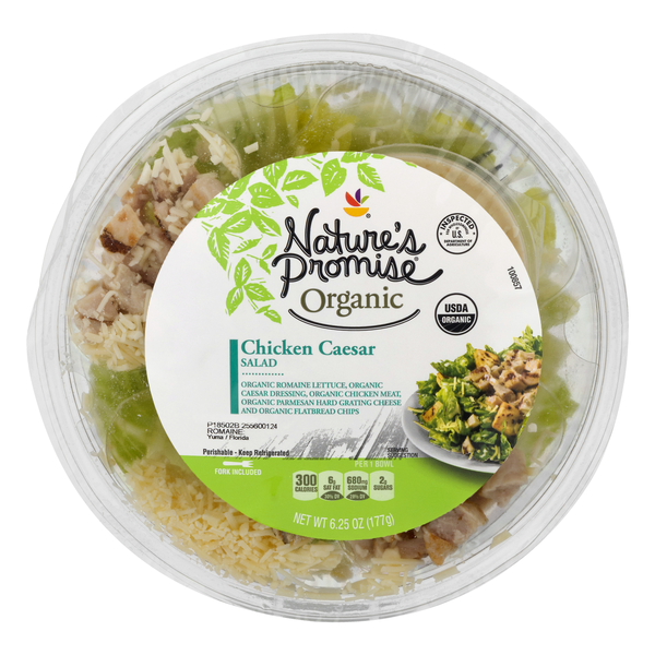 Nature's Promise Organic Chicken Caesar Salad
