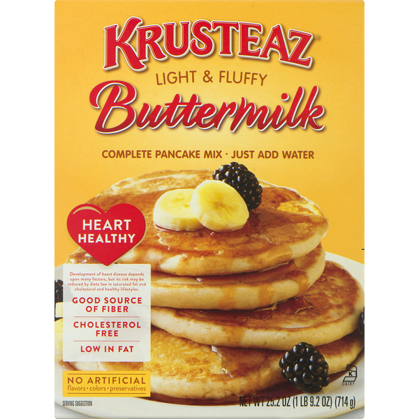 Krusteaz Complete Pancake Mix Buttermilk Light & Fluffy