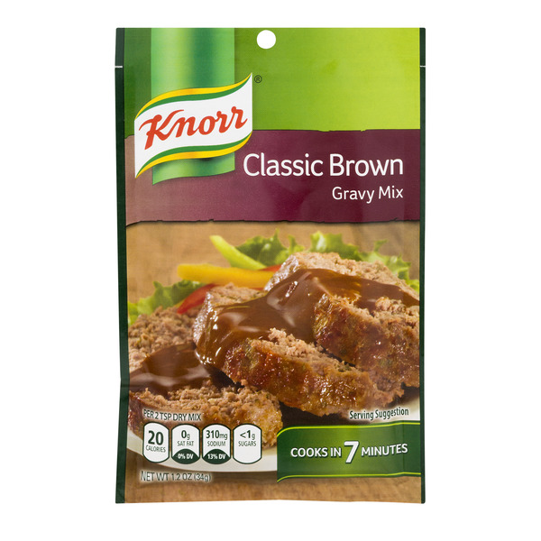 Knorr Gravy Mix Packet Classic Brown