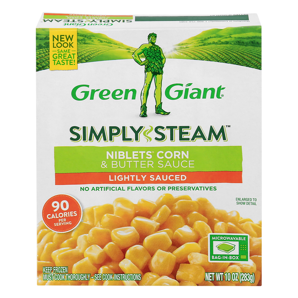 Green Giant Simply Steam Niblets Corn & Butter Sauce Lightly Sauced