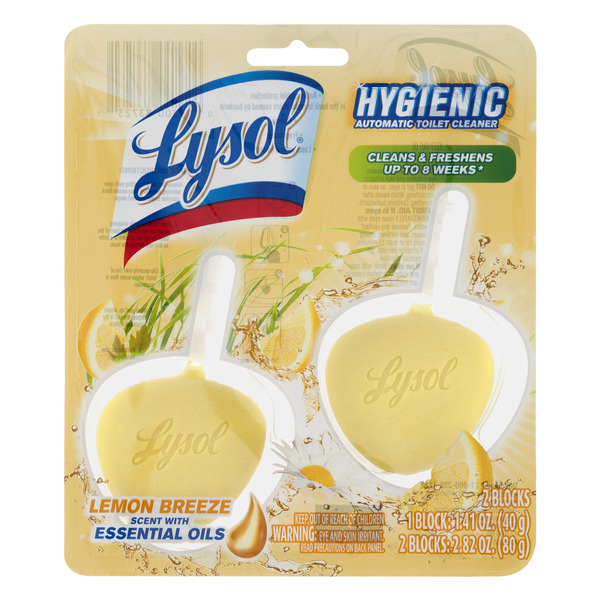 Lysol No Mess Automatic Toilet Bowl Cleaner Citrus Scent