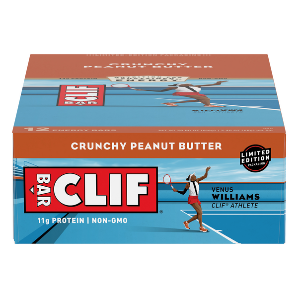 Clif Energy Bars Crunchy Peanut Butter Limited Edition - 12 ct