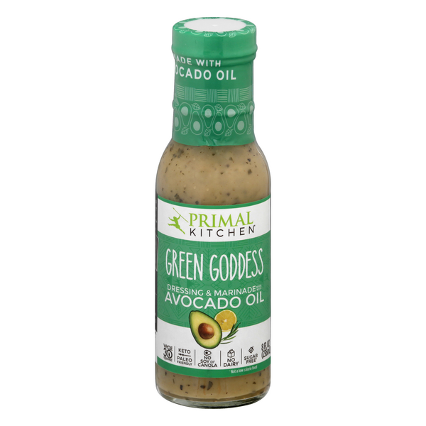 Primal Kitchen Green Goddess with Avocado Oil Dressing & Marinade