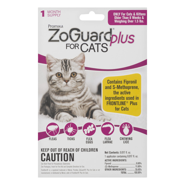 ZoGuard Plus Flea & Tick for Cats