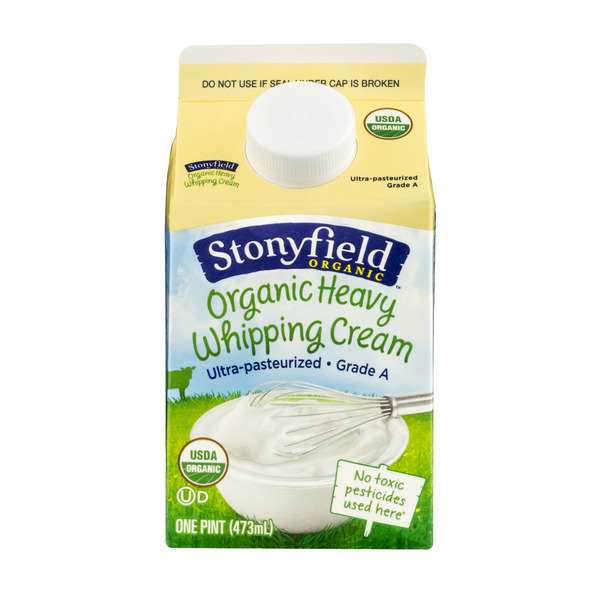 Stonyfield Whipping Cream Ultra Pasteurized Organic