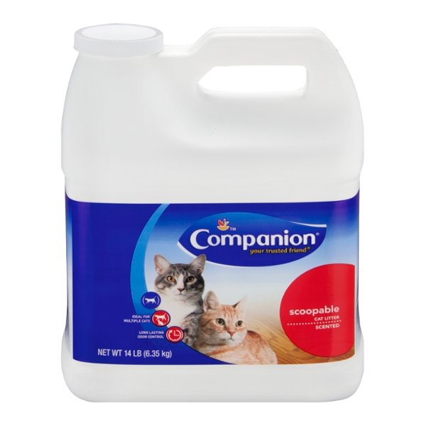 Companion Scoopable Cat Litter Scented