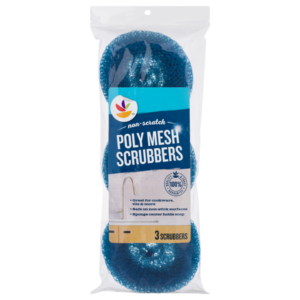 MARTIN'S Non-Scratch Poly Mesh Scrubbers