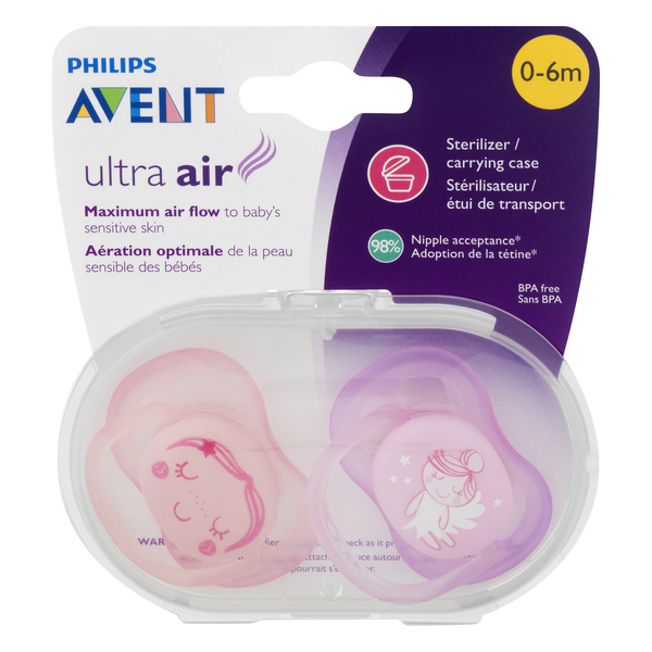 Philips Avent Pacifiers Ultra Air 0-6m