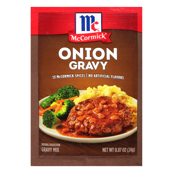 McCormick Onion Gravy Mix Packet