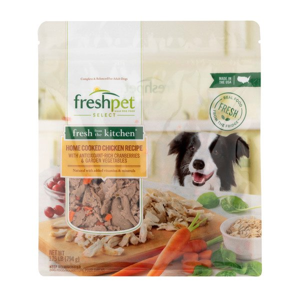 Freshpet Select Refrigerated Dog Food Home Cooked Chicken Recipe