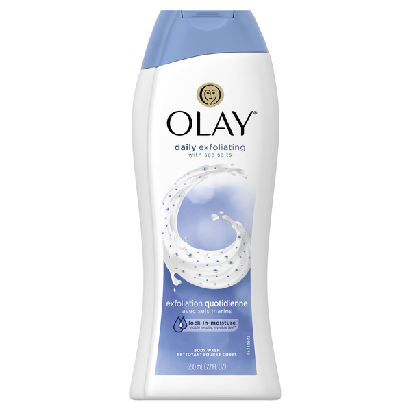 Olay Daily Exfoliating Body Wash with Sea Salts