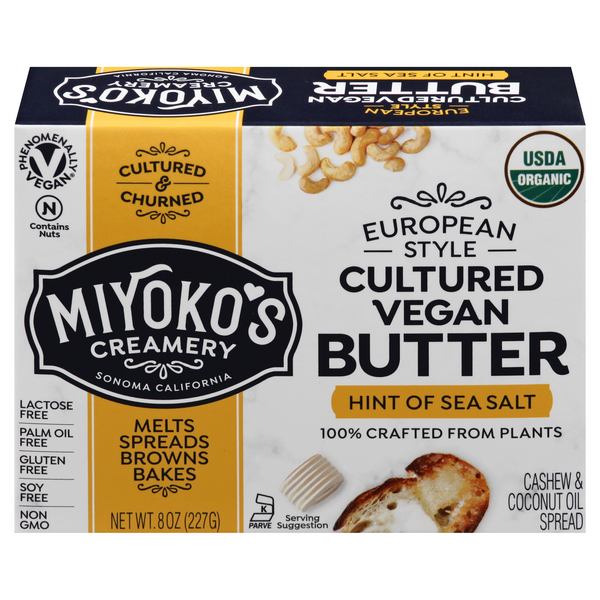 Miyoko's Cultured Vegan Butter