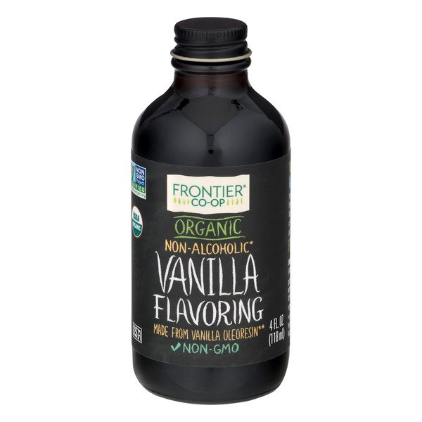Frontier Co-op Vanilla Flavoring Non-Alcoholic Organic