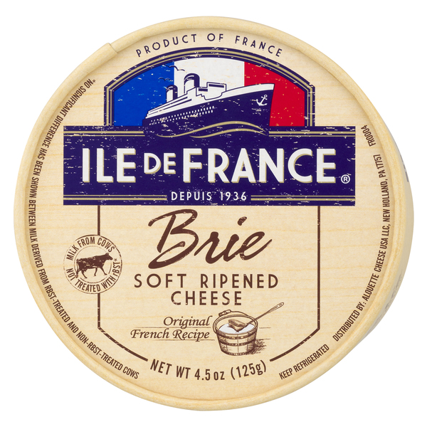 Ile De France Brie Soft Ripened Cheese