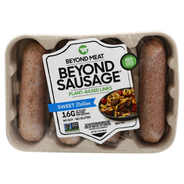 Beyond Meat Beyond Sausage Plant-Based Links Sweet Italian - 4 ct