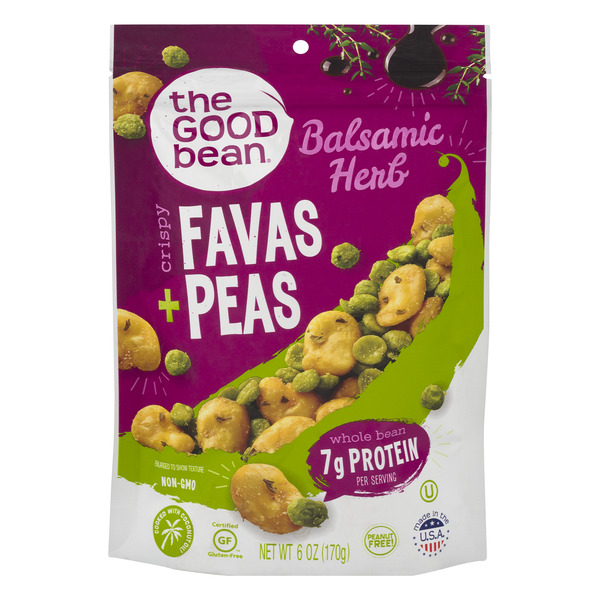 The Good Bean Crispy Favas + Peas Balsamic Herb