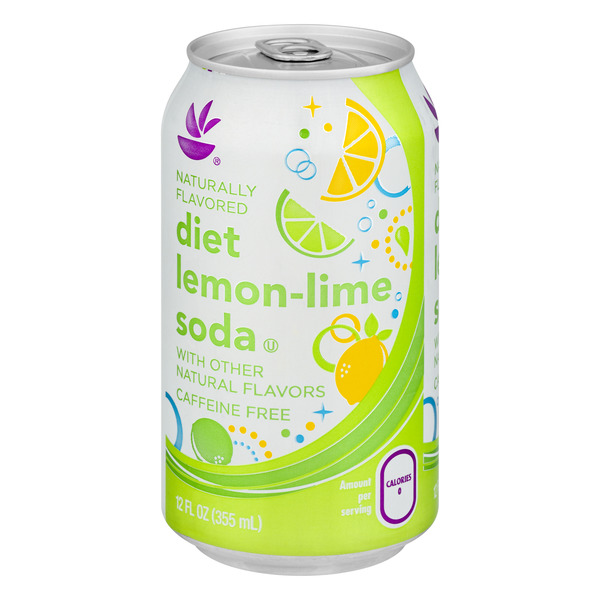 Stop & Shop Lemon-Lime Soda Diet Caffeine Free