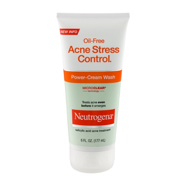 Neutrogena Acne Stress Control Power-Cream Wash Oil-Free