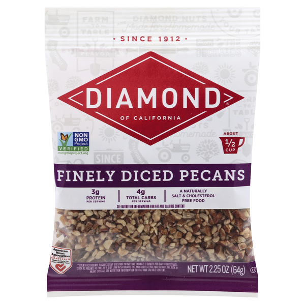 Diamond Of California Finely Diced Pecans