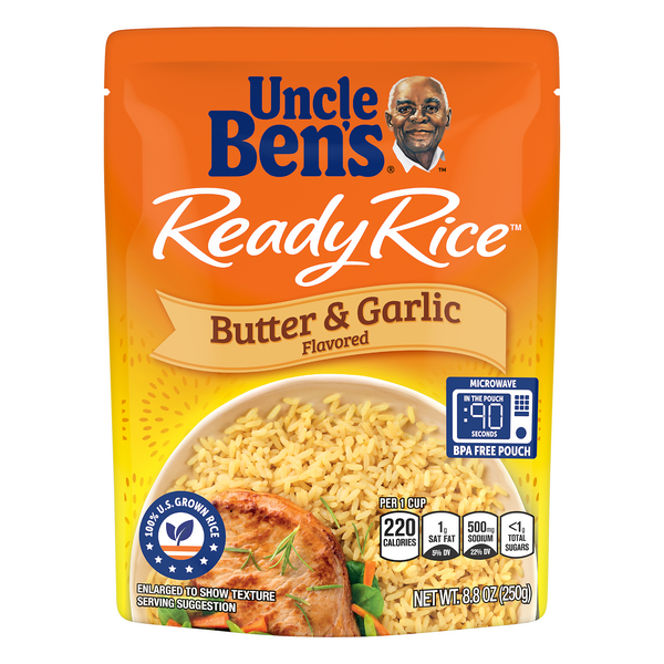 Uncle Ben's Ready Rice Butter & Garlic Flavored