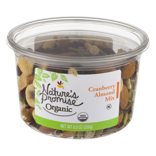 Nature's Promise Organic Cranberry & Almond Mix