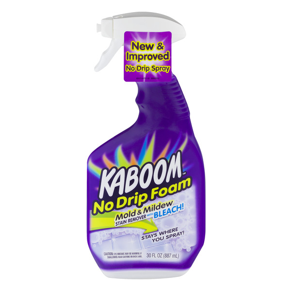 Kaboom Mold & Mildew Stain Remover No Drip Foam with Bleach Trigger Spray