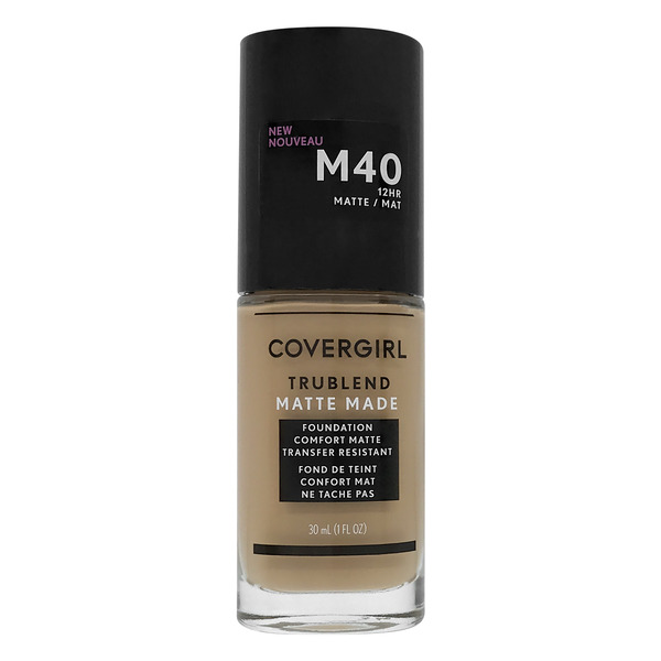 CoverGirl TRUBLEND Matte Made Foundation Warm Nude M40