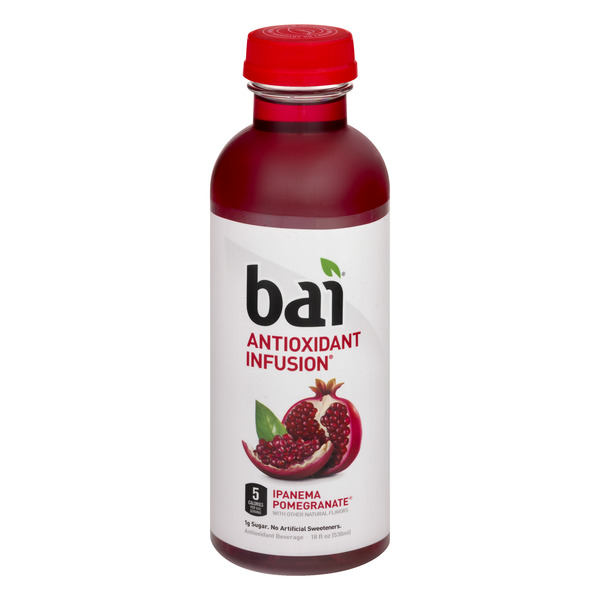 bai5 Ipanema Pomegranate Antioxidant Infusions Beverage
