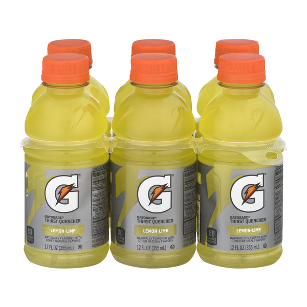 Gatorade Thirst Quencher Sports Drink Lemon-Lime- 6 pk