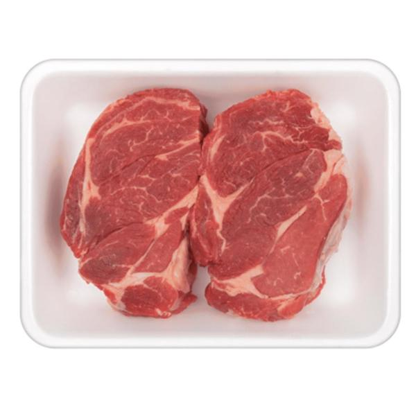 USDA Choice Beef Chuck Eye Steak Boneless Vacuum Sealed Fresh - 2 ct