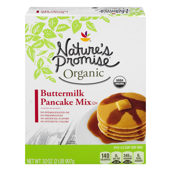 Nature's Promise Organic Pancake Mix Buttermilk