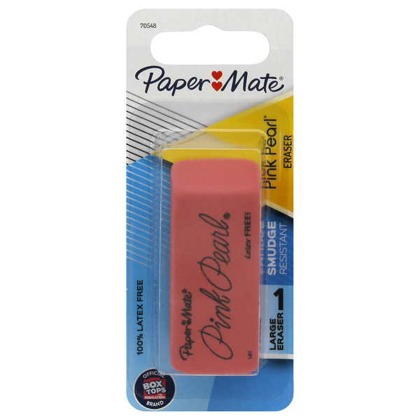 Paper Mate Rubber Eraser Pink Pearl