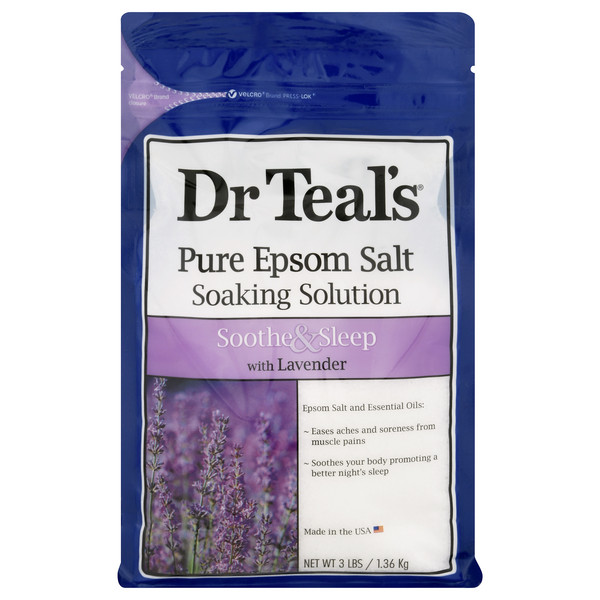 Dr. Teal's Pure Epsom Salt Soothe & Sleep with Lavender