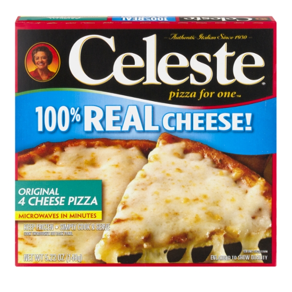 Celeste Pizza For One 4 Cheese