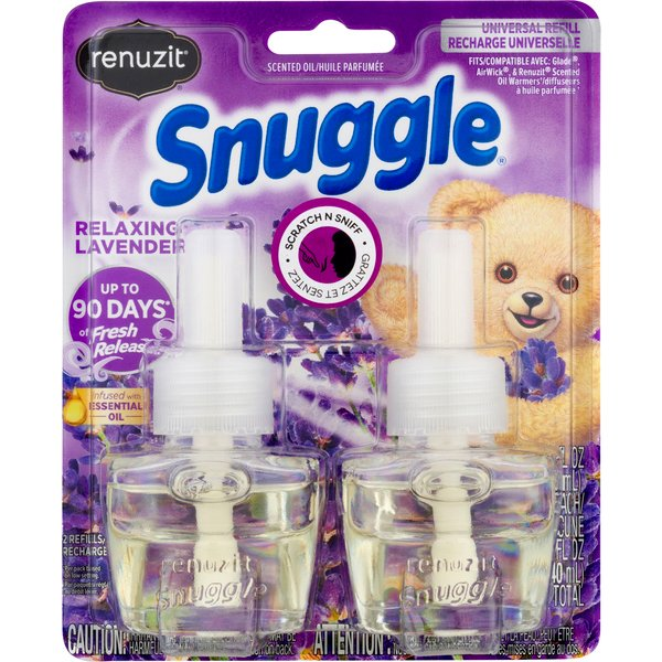 Renuzit Snuggle Scented Oil Refill Relaxing Lavender
