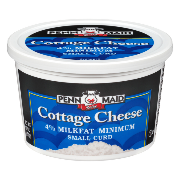 Penn Maid Cottage Cheese 4% Milkfat Small Curd