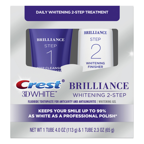 Crest 3D White Brilliance Daily Cleansing & Whitening System