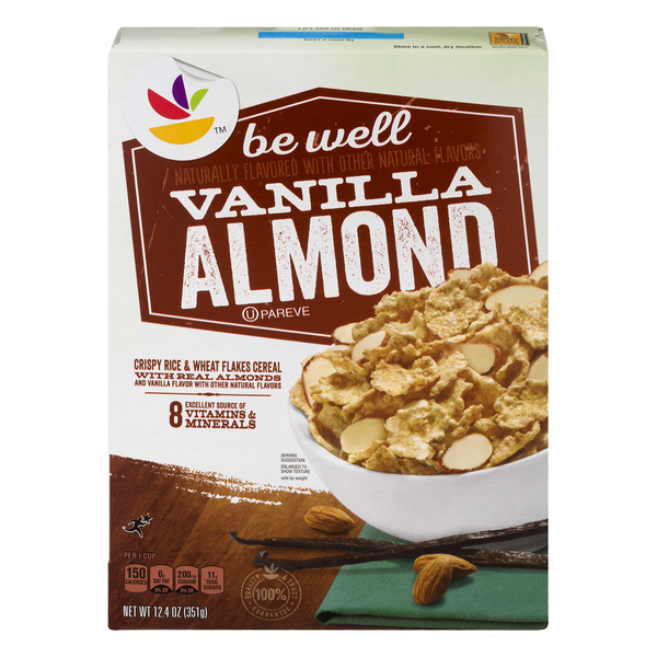 Giant Be Well Cereal Vanilla Almond
